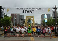 The Pirates Charities 5K Event took place this year on April 21.