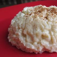 Rice pudding - when I fix rice for a meal I double the quantity I need ...