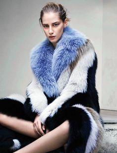 Melina Gesto by Thomas Lohr for Vogue Germany September 2014