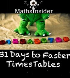 10-15 minutes a day for 31 days to help guide your child to faster, more confident times tables.