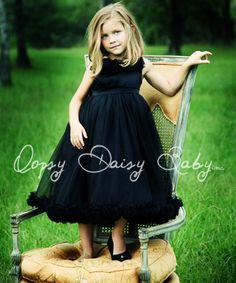 Oopsy Daisy Baby Black Holiday Dress Size 2