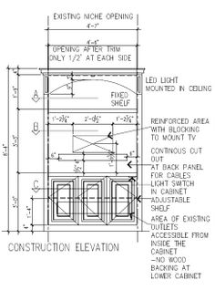 Shop Drawings For Built Ins Amp Furniture On Pinterest