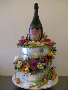 Champagne Bucket Cake by Sylvia Weinstock