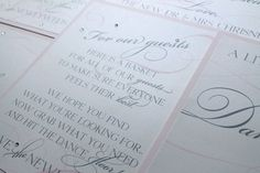 Romantic Vintage Flourish Signs for Wedding by DivaGoneDomesticToo