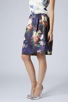 Photo 2 of Blur Rose Midi Skirt