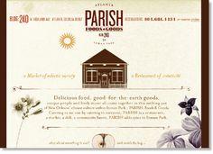 Boy Burns Barn: Parish Food & Goods Identity