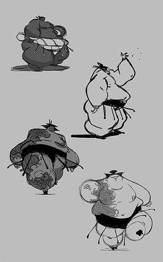 sumo ✤ || CHARACTER DESIGN