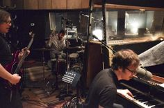 It's happening fo sho - Day 1 in studio with Robert and Darren through March #NewBenFoldsFiveRecord    OMGeee!!!!