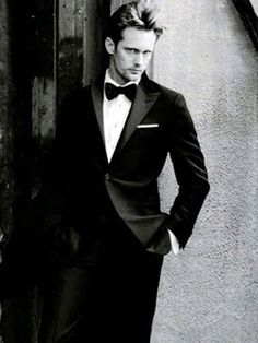 """Alexander Skarsgard. """"Life isnt one demensional. The world isnt simply divided into good versus evil. I think we are all capable of both."""""""