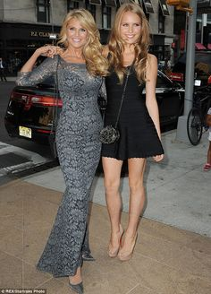 There's more! Christie Brinkley showed off her stunning daughter Sailor at the event