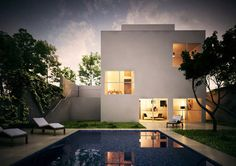 Turégano house by Alberto Campo Baeza