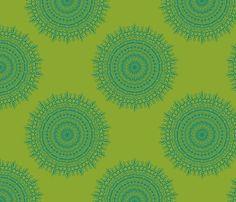 littlerhodydesign, medallion lime, custom fabric, spoonflower, lime fabric, limes