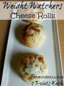 Weight Watchers Appetizer Recipes: Cheese Rolls
