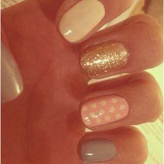 Girly girl nails