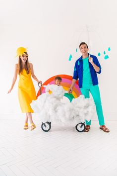 DIY Family Weather Costume | studiodiy.com