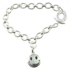 Links Of London Bracelet Happy Face Charm