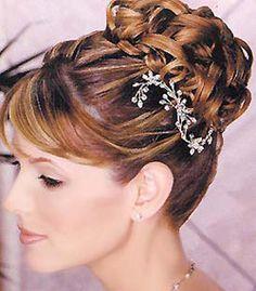 peinado novia, moño tenzado con mini corona