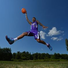 Ben McLemore of the Sacramento Kings poses for a portrait during the 2013 NBA Rookie Photo Shoot on August 6, 2013 at the Madison Square Garden Training Facility in Tarrytown, New York. (Photo by Jesse D. Garrabrant/NBAE via Getty Images)