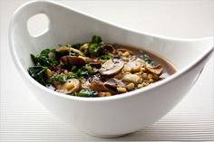 Recipes for Health - Barley Soup With Mushrooms and Kale - NYTimes.com
