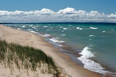 Michigan: sand dunes near Lake Michigan