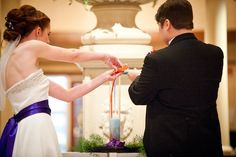 Hows about a little chemistry with your unity ceremony? | Offbeat Bride
