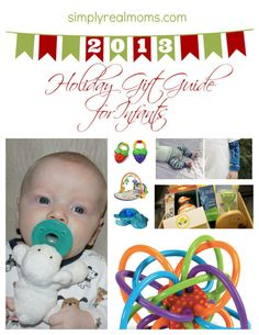 Best Holiday Gift Guide for Infants!! Find that perfect gift for the baby in your life!