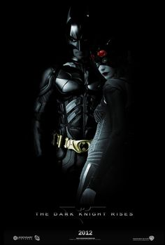 The Dark Knight Rises poster.