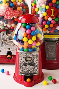 Color inspiration and gumball machine