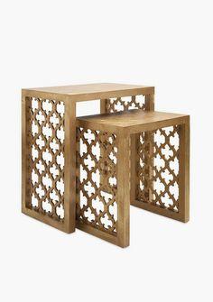 Rabat Nesting Tables - Set of 2