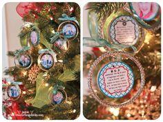 {Handmade Photo Ornaments-Fancy Bangle Style}