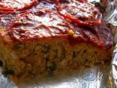 """Sweet Potato Lentil Quinoa """"Meatloaf"""" (gluten free, vegan)"""