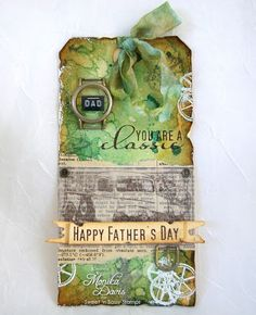 Sweet n Sassy Stamps: Timeless Classic Tim Holtz style tag...