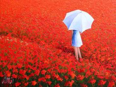 """Poppy field"", Dima Dmitriev"