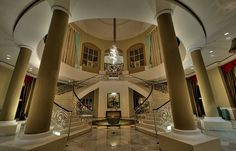 Jamaica_Grand_Hotel_staircase_1 by daument100, via Flickr love the foyer