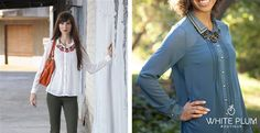 Emerson Blouse - 4 Color Options!