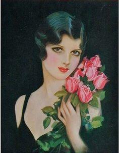 Roses. Earl Christy