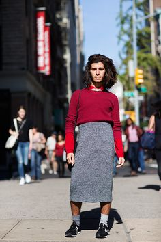 Just a reminder to be a bit more brave.  The Sartorialist