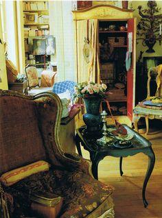 The Paris Apartment of Amalia de Klemm.