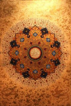 Golden #mandala