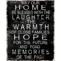 Home Blessing Wall Decor.