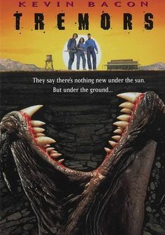 Tremors (1990) hahahaha this movies so bad fav movi, awesom movi, tremorsweridest movi, favorit, tremor 1990