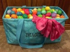 Easter Egg hunts just got a lot easier with the Thirty One large utility tote. www.mythirtyone.com/87193