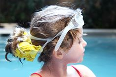 flowers, kid