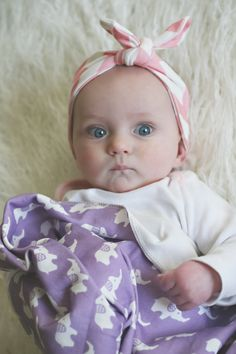 Organic+Chevron+Baby+Headband+in+Soft+Pink+by+GrowingUpWild,+$10.00