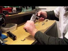 How to clean and lubricate a 1911 pistol. - YouTube