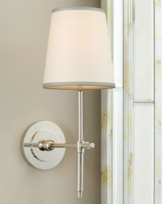 """VISUAL COMFORT """"Bryant"""" Sconce - Horchow Powder Room"""