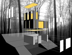 JOHNSEN SCHMALING ARCHITECTS - Stacked Cabin