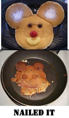 The resemblance is uncanny. Never too old for MM pancakes -  too funny Pinterest vs reality. See more on this pinners board  http://www.pinterest.com/kristiwithani/nailed-it/