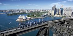 Gifts for TEENAGERS: BridgeClimb Sydney, from $138 (10-15 yrs).  #Christmas #gift #Australian #teenager Recommended by http://www.thekidsareallright.com.au