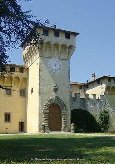 Villa Medicea di Cafaggiolo - Barberino di Mugello (Firenze)